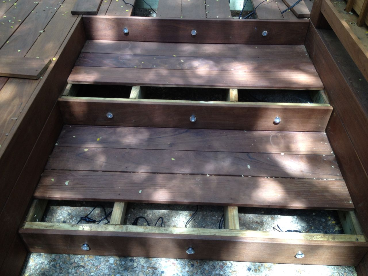 Deck Stairs Lighting Ideas Ow35 Roccommunity