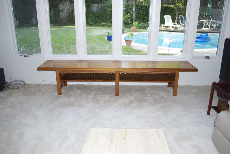 Tony's Woodworking Projects: Long Benches